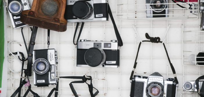 Cameras on a wall