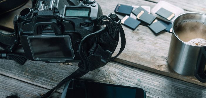 Camera and memory cards