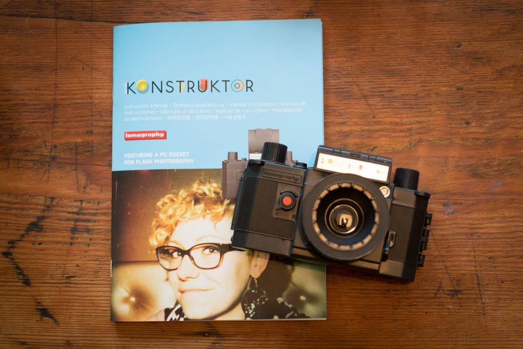 Konstruktor DIY 35mm Camera Finished