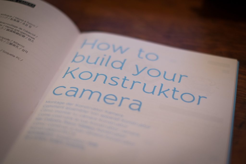 Konstruktor Build Instructions